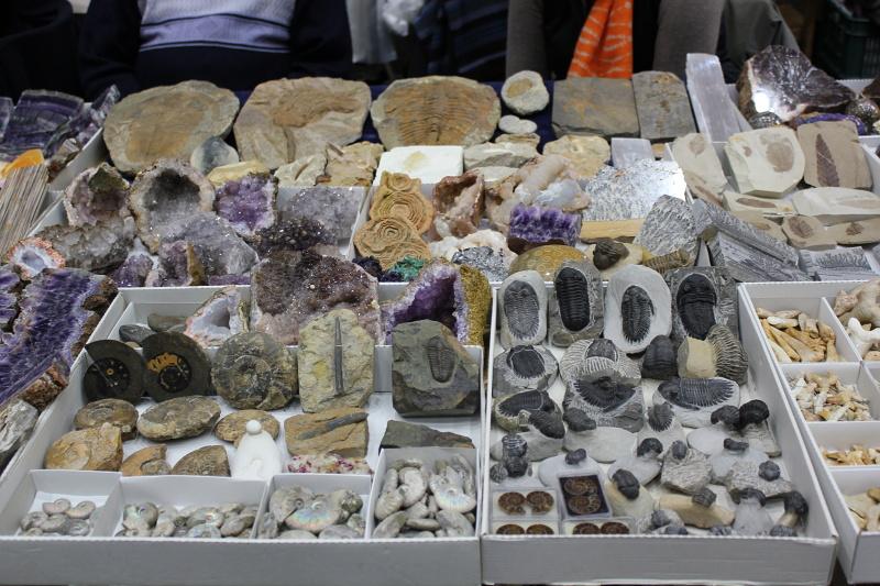 Výstava minerálů podzim 2019